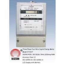 Three Phase Four Wire Digital Meter