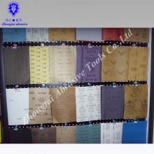 Alle Arten Schleifpapier