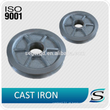 Polia de ferro fundido personalizado OEM