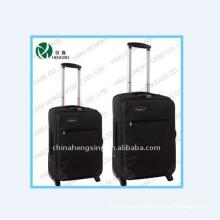 Нейлон тележки багажа устанавливает с четырьмя колесами