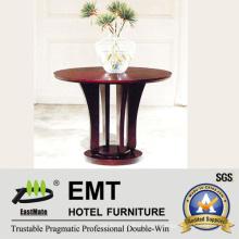 Lobby Decorar Mobiliário Mesa De Madeira De Flores (EMT-FD10)