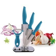 Juego de cuchillos de cocina de cerámica