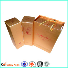 Foldable Paper Wine Box Packaging