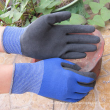 Polyester Latex Foam Dipped Palm Hand Work Glove Latex Glove