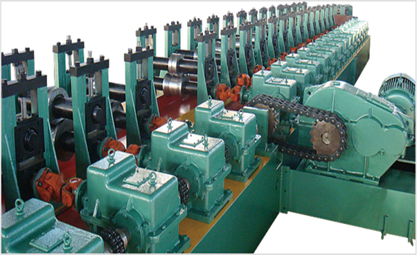 High Speed Storage Rack Roll Forming Making Machine