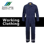 Navy Blue Autumn Man's Long Coat