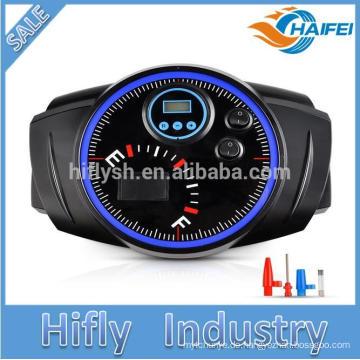 Reifenluftpumpe, tragbare 12V elektrische Luftkompressorpumpe 150PSI mit Messgerät-Fahrzeug-aufblasbarer Pumpe für Autos, LKWs