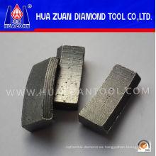Broca de núcleo de segmento de techo de alta eficiencia para reforzar el corte de hormigón