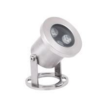 Factory 3W stainless steel outdoor lighting IP68