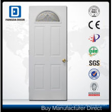 Moon Glass Modern Pre-Hung Entrance 4 Panel Exterior Door