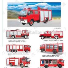 4 * 2 unidad 5000 litros SINOTRUK HOWO tanque de agua camión de bomberos / HOWO camión de bomberos de agua / HOWO tanque de agua camión de bomberos / espuma de agua camión