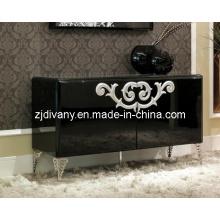 Gabinete de madera de salón de estilo moderno (LS-561) de correos