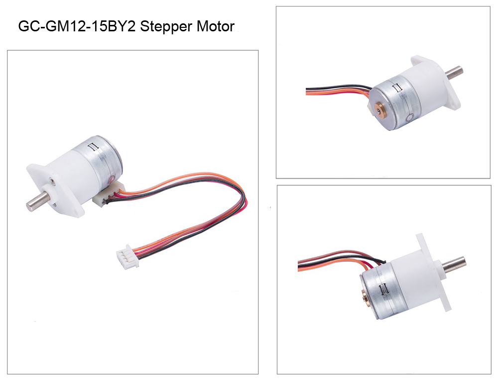 micro geared stepper motor