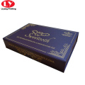 Luxury magnetic sweet brownies gift box supplier