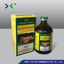 Animal Oxytetracycline Hcl Injection 10%