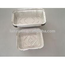 Alu-Folie-Behälter zur Aufbewahrung von Lebensmitteln