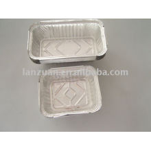Aluminium foil container for storing food