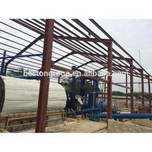 Altamente competitivo e rentável usado equipamento de reciclagem de plástico china máquina de pneus de pirólise Concedida CE ISO