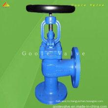 Угол Тип Клапан DIN Глобус (GAJ44H)