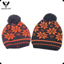 Зимняя зимняя акриловая жаккардовая шляпа