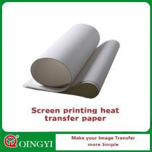 Циньи шелковой бумаги печатания экрана с хорошим качеством
