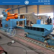 Máquina de liberação de bobina de aço