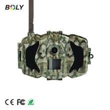 """30M 1080P HD Black IR 3G MMS/GPRS thermal hunting camera and trail cam with 3"""" LCD screen"""