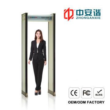 High Security Sensitivity Elegant Appearance Door Frame Metal Detector Secret Meetings Site