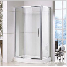 Bow Front Shower Enclosure with Side Panel