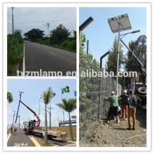 nouveaux fabricants de lumière de rue mené par prix direct d'usine de prix direct d'usine, poteau de réverbère d'énergie solaire d'énergie