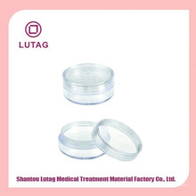 Transparent beauty case for eyeshadow cosmetic container