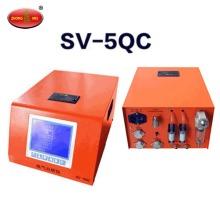 SV-5QC Portable Automotive Engine 5 Flue Gas Analyzer