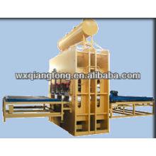 Máquina de laminación de la melamina de la prensa caliente / prensa caliente del panel compuesto