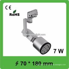 High qulity CE & ROHS certificat 7W cob led track light, 3 ans de garantie