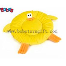Suave peluche amarillo pato cama de perro cama de gato en gran tamaño Bosw1101 / 60 Cm