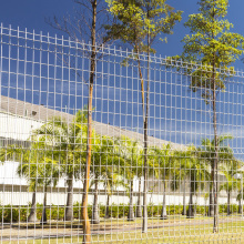 Commercial Welded Wire Mesh Fence 3D Models