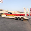 3-Line 6-Axis Heavy Loading Low Bed Semi Trailer