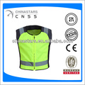 Safety clothing yellow hi vis rider coat