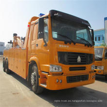 Grúa resistente del camión de auxilio de camino de los 40t de los proveedores de China