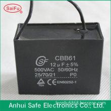 CBB61 450V 12uF exhaust fan capacitor