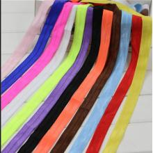 Custom high elasticity printed polyester elastic band