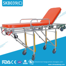 SKB039(C) Medical Adjustable Ambulance Patient Stretcher Trolley Price