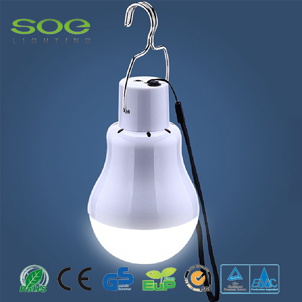 IP65 e27 e40 base led solar bulb