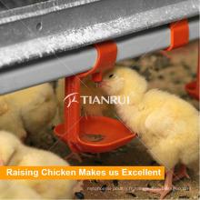 Buveur automatique de mamelon de volaille pour la cage de poulet de volaille