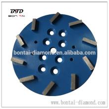 Placa de pulido de diamante de 10 '' 250mm
