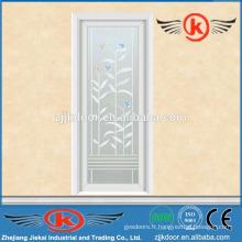 JK-AW9021 porte vitrée insonorisée / verre dépoli intérieur givré