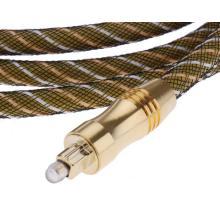 1,5 m, câble Audio numérique fibre optique Od6.0mm Od60-E