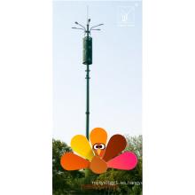 22 m Monopole Tlecom Tower para la estación de ferry