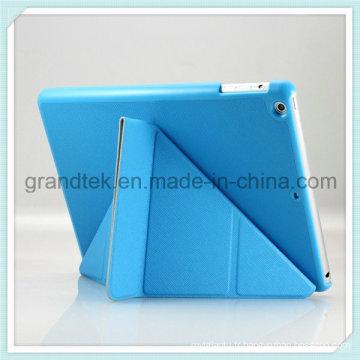 Fold Flip PC + PU étui en cuir pour iPad couvrir avec support