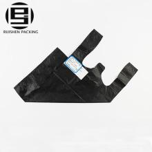 Biologisch abbaubare schwarze Weste T-Shirt Taschen Großhandel